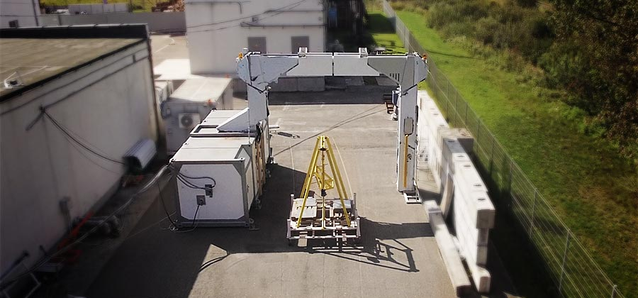 DTP 7500LV | Security Cargo and Vehicle X-ray Inspection