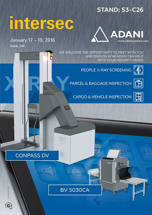 ADANI at INTERSEC 2016
