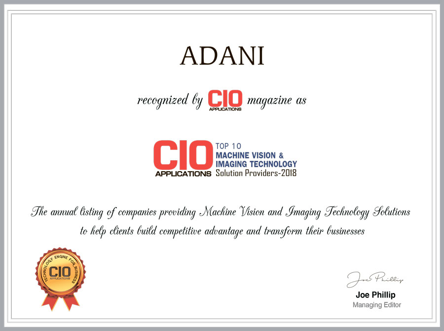 ADANI CIO Applications